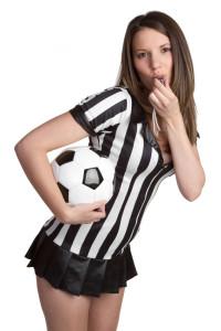 Gogo Girl im Fußball Trikot